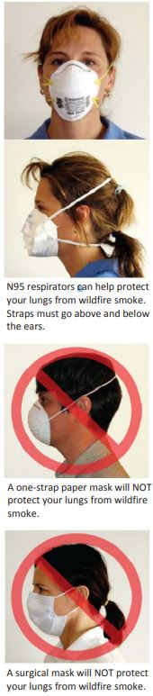 n95 respirator mask for wildfire